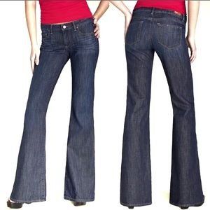 Paige Robertson Wide Leg Stretch Jeans